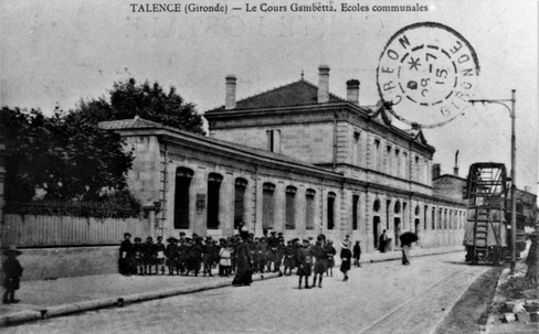Cours Gambetta  Ecole Communale 1915