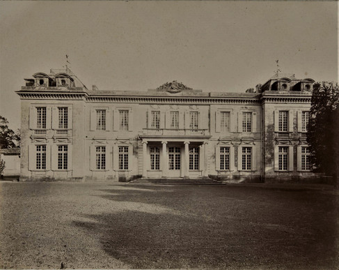 1783-1896 Château Raba Façade Ouest