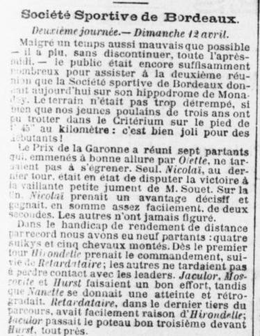 Société Sportive de Bordeaux