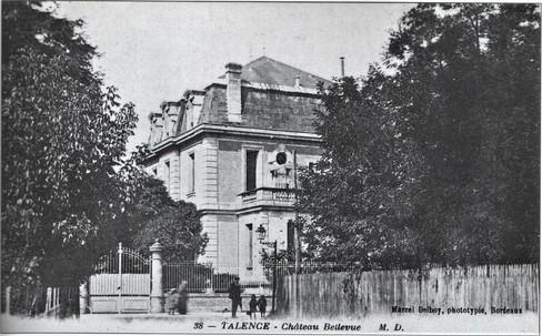 Château Bellevue  ou Bel-Air