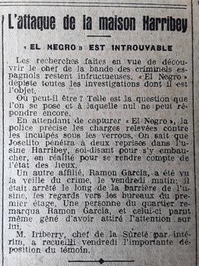 350  El Negro introuvable