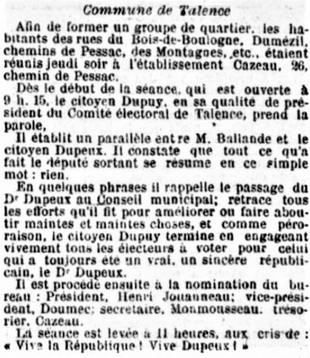 Comité Bois de Boulogne