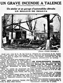 Incendie François