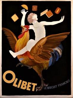 Affiche Olibet Coq