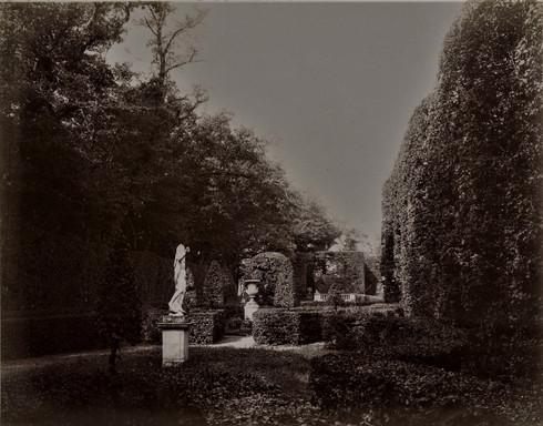 1783-1896 Château Raba  Derrière la pièce d'eau