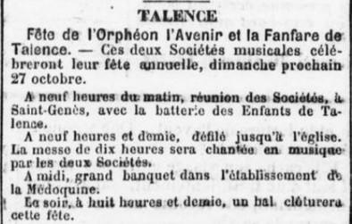 Orphéon et Fanfare