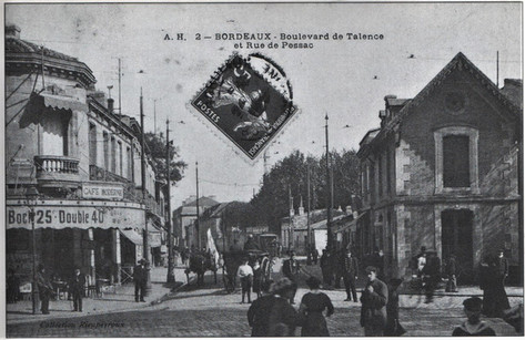 Boulevard et rue de Pessac