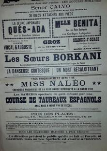 Cirque Calvo Affiche