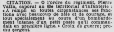 Citation VATIN Pierre