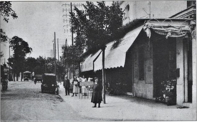 Cours Gambetta prés du Lycée