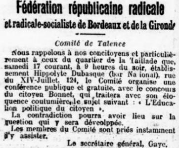 Réunion Politique