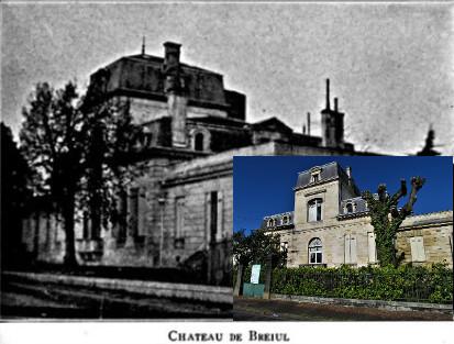 Château du Breuil ou Gardères