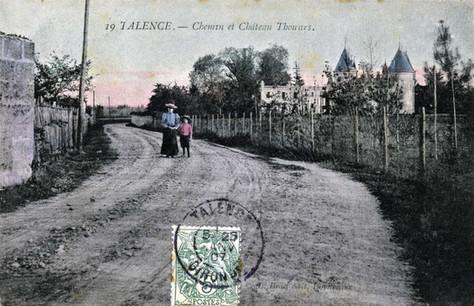 Château de Thouars couleur 1907.