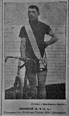 02 François Bordier vainqueur de Bordeaux Saintes 1911.