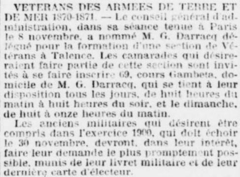 Vétérans 1870-1871