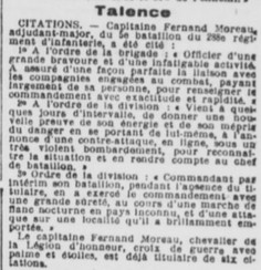 Citation MORREAU Fernand