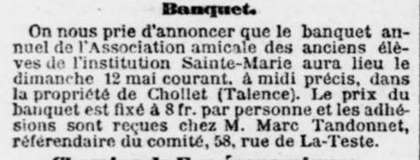 Banquet D'anciens