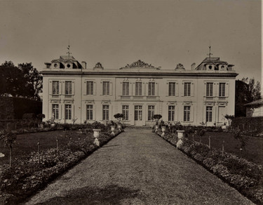 1783-1896 Château Raba_Façade Est