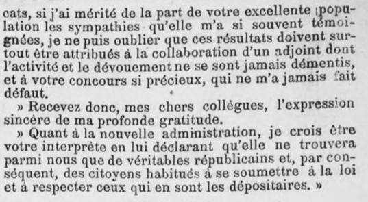et son adjoint Fédéric Sévène démissionne