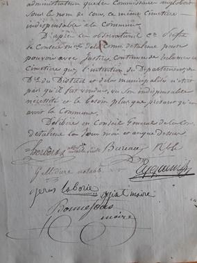 Bonnefous Louis Maire 1798 1806