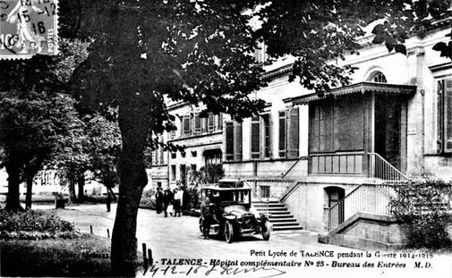 L'Hôpital temporaire N°25