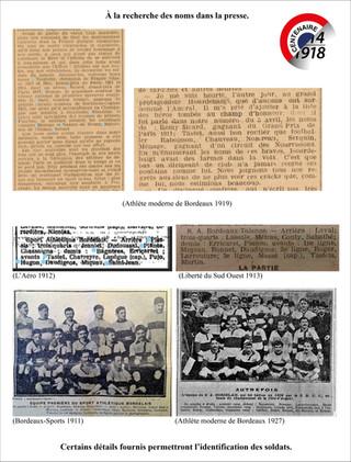 03 Recherche des membres du club dans la presse.