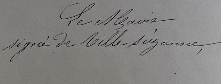 De Villesuzanne Marie Jean Clément Maire 1874 à 1876