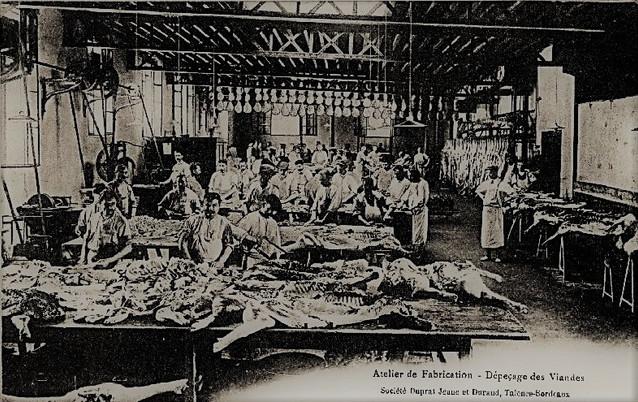 Duprat-Durand Dépessage des viandes