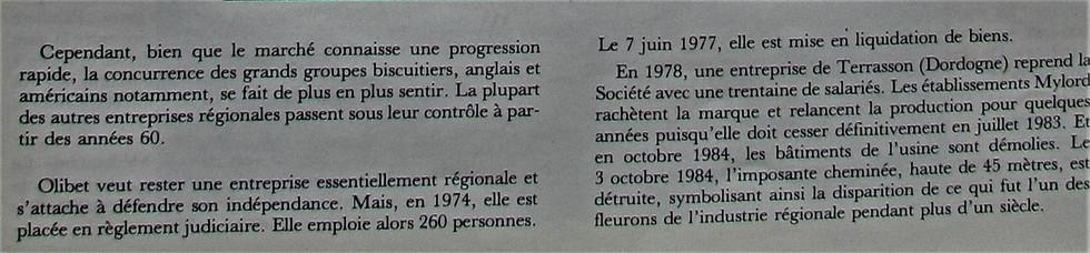 Biscuits Olibet 03 Historique