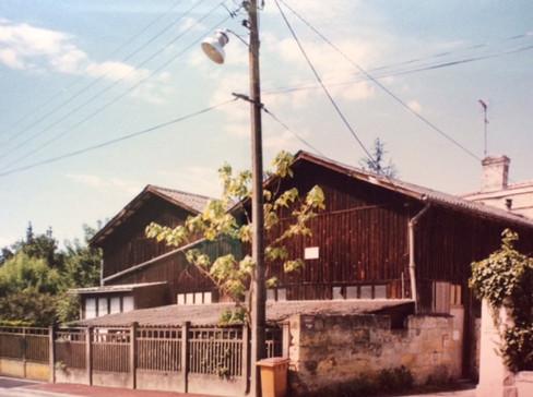 Rue Maurice Berteaux atelier de menuiserie