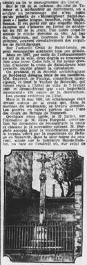 Croix sauvée en 1898