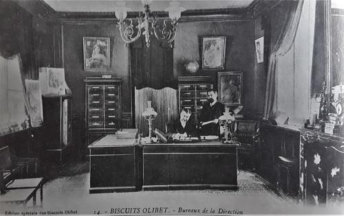 Bureau directorial d' Antoine Eugène Olibet