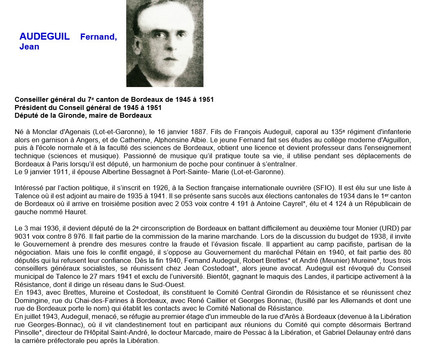 Adjoint 1935-1941
