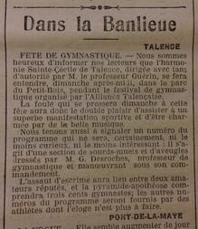 Fçetes Gymnastique au Petit Bois