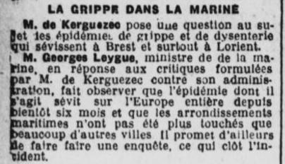 Georges Leygue reconnaît que la France est touchée.