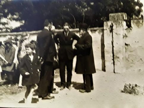 M. Iriquin Maire de Talence et le Consul