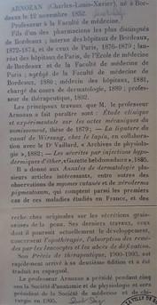 Professeur Xavier Arnozan Biographie