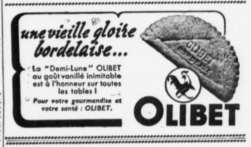 La demi-lune Biscuit Olibet
