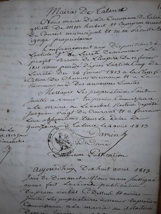 Sceau Impérial et signaturede Davrin