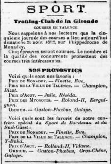 Trotting Club de la Gironde