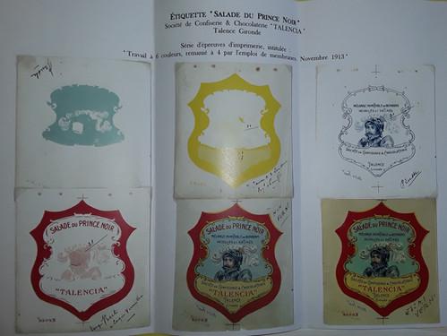 Réglage couleur d'imprimerie pour étiquettes Talencia