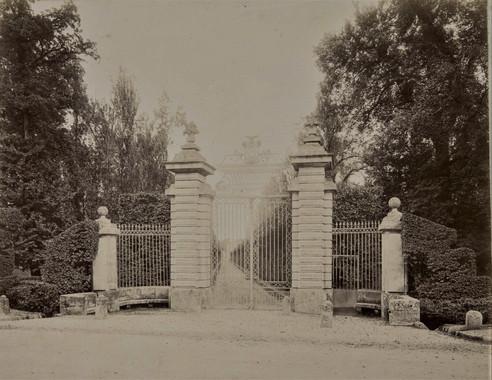 1783-1896 Château Raba Portail d'Entrée  Nationale 10  Route de Bayonne