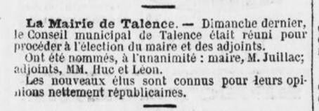 Jacques Juillac Maire