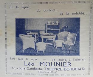 Léo Mounier meubles