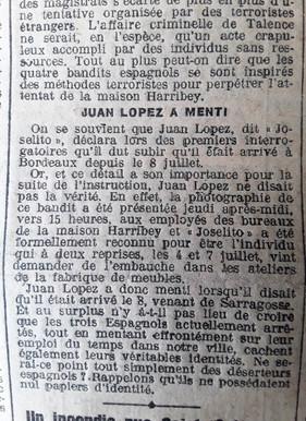 33 Lopez a menti