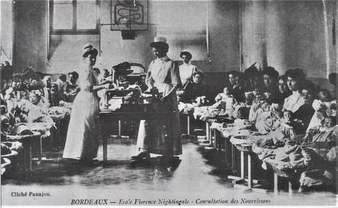 L'internat fut inauguré en mai 1922