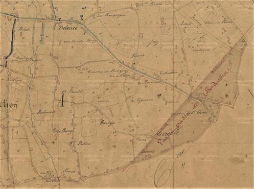 Plan Talence Nord Est Suzon Bourg