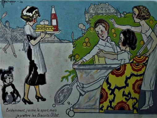 Affiche Olibet 1925