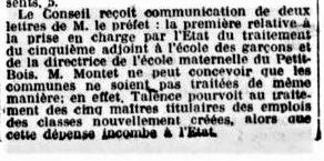 Ecole Petit Bois