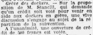 Grève dockers